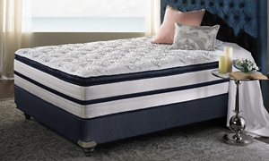 """Picture of iTwin Melodic Plush 14"""" Queen Mattress"""