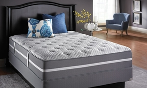 "iTwin Tori 14.5"" Plush Queen Mattress"