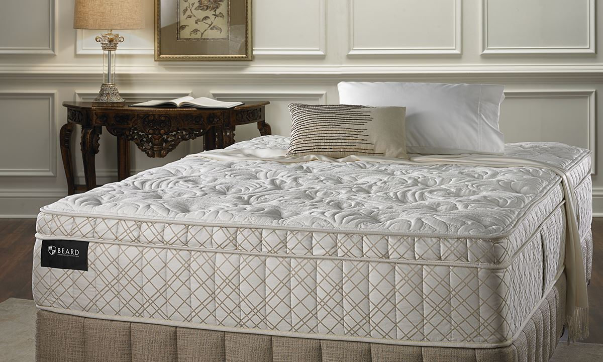 picture of ahbeard classic lux firm queen size mattress