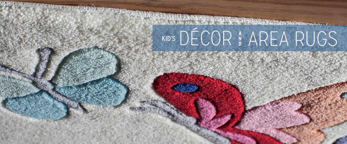 Kid's Decor and Area Rugs