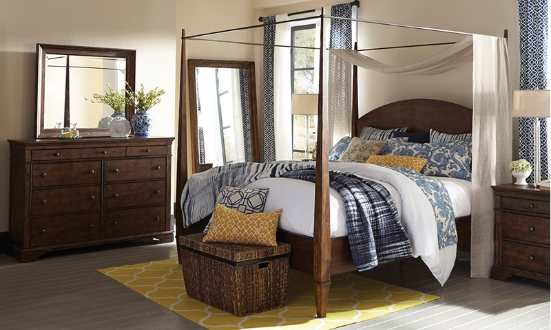 Picture of Trisha Yearwood Jasper Queen Canopy Bedroom