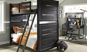 Picture of Graphite Twin over Twin Bunk Bed
