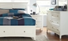 Picture of Cooperstown White Twin Bedroom