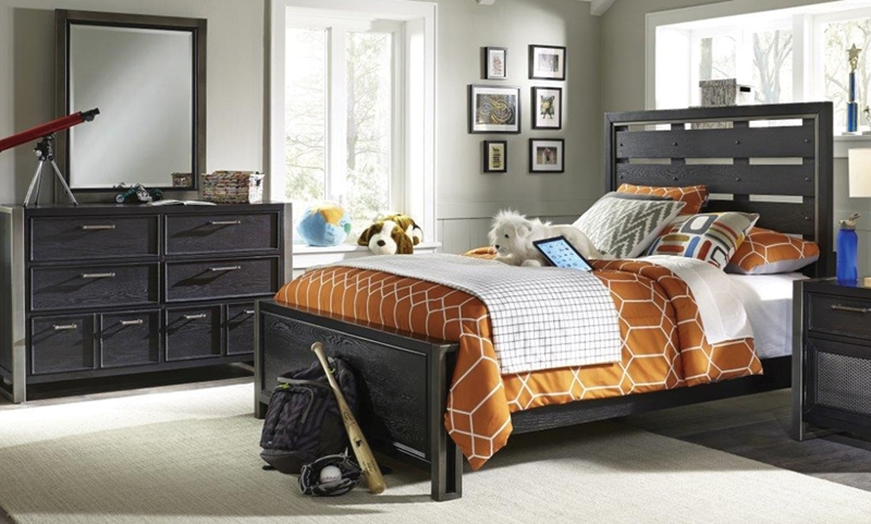 Picture of Graphite Twin Bedroom