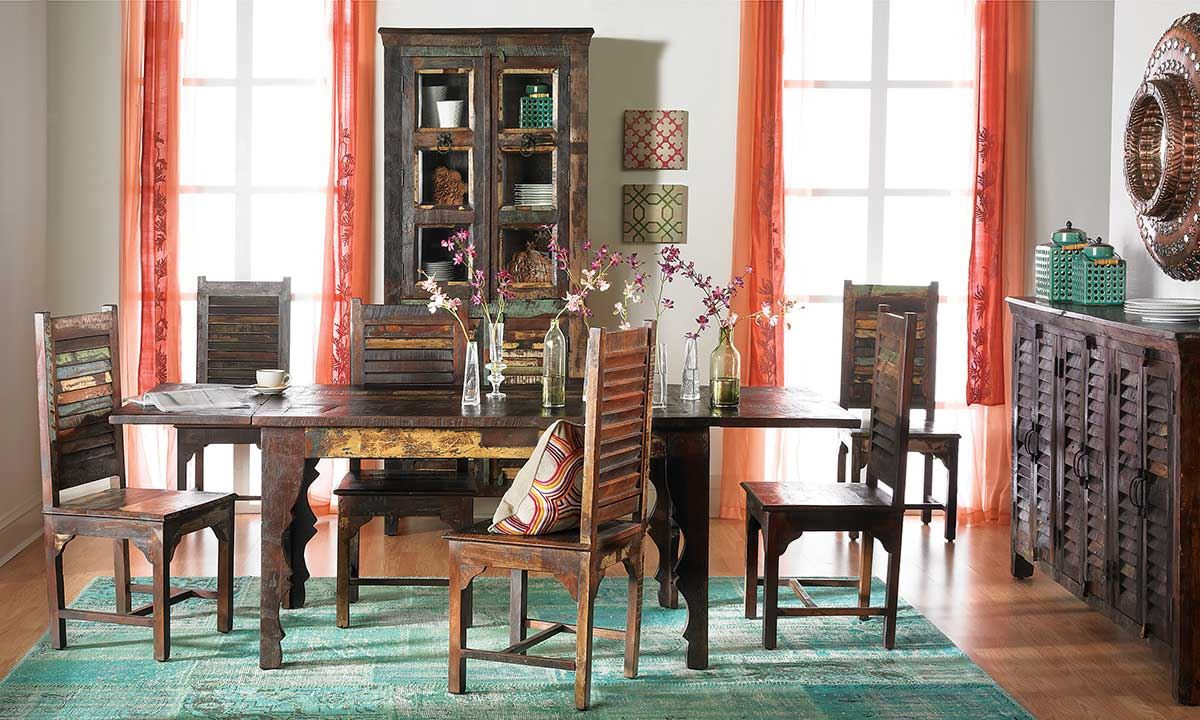 Chaat Reclaimed Teak Dining Table