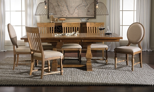 Picture of Rhone Solid Wood 5-pc Dining Room