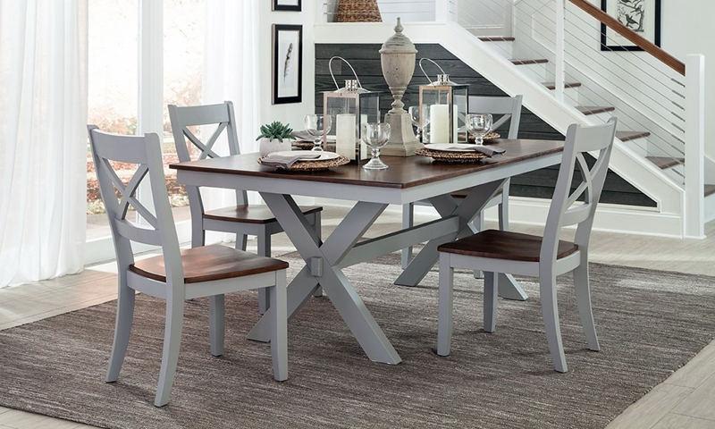 Picture of Bar Harbor Solid Wood Dining Set