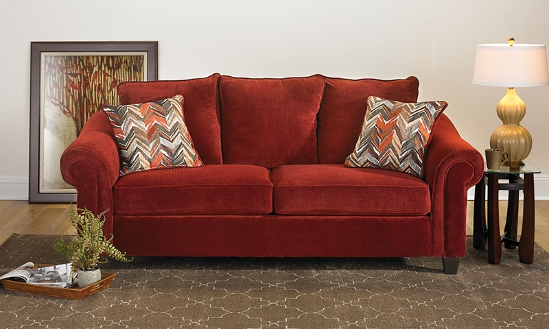 Picture of Dynasty Roll Arm Sofa