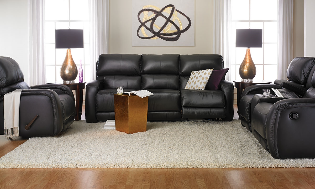 Milano Leather Recliner Sofa Set Functionalities Net ~ Leather Reclining Sofa Set
