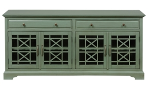 Picture of Jofran Craftsman 60-Inch Antique Jade Media Console