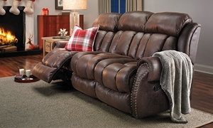 Picture of Aspen Chestnut Reclining Sofa
