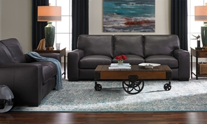 Picture of Palermo Natuzzi Leather Living Room Set