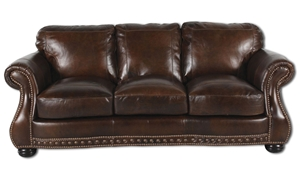 Picture of Cowboy Chesterfield Leather Sofa
