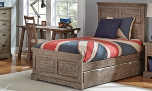 Picture of Davey Twin Panel Storage Bed