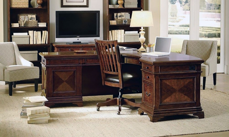 Hawthorne Executive L Shaped Corner Desk