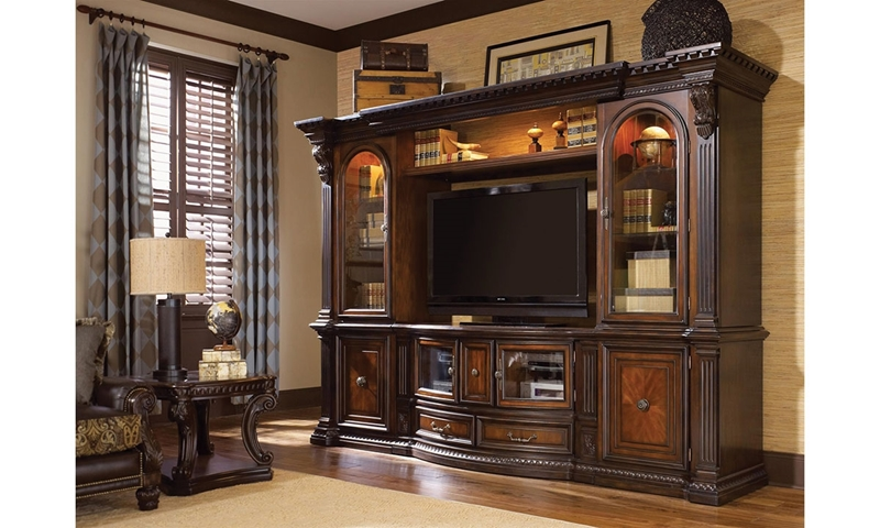 Picture of Grand Estates Electronics Wall Unit