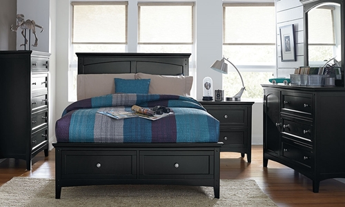 Picture of Cooperstown Twin Storage Bedroom