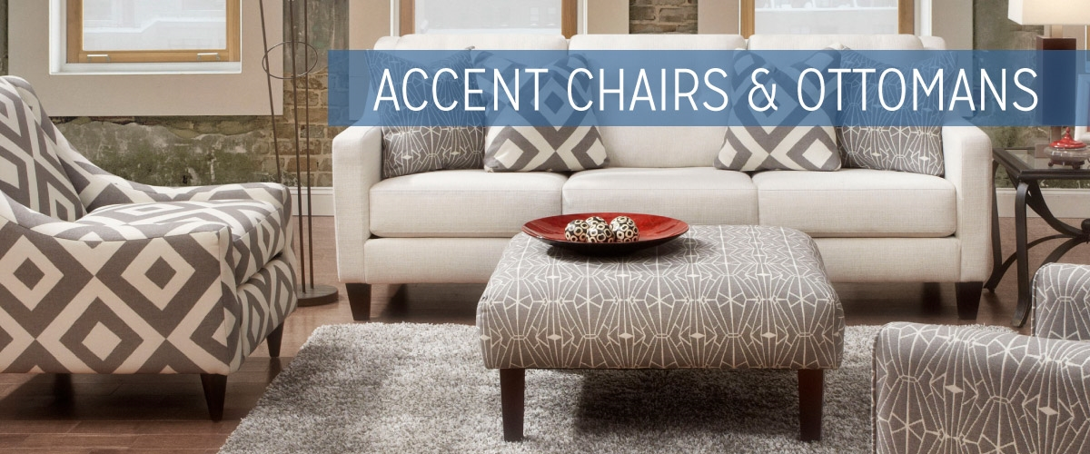 Accent Chairs & Ottomans