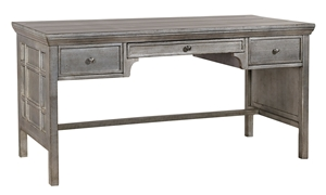 Picture of 3-Drawer Metallic Writing Desk