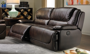 Picture of Atlas Power Reclining Leather Gel Sofa