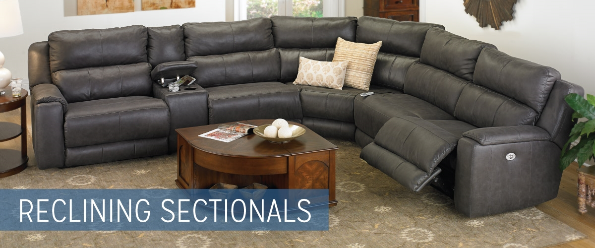 Reclining sectional sofas haynes furniture virginia39s for Sectional sofas virginia