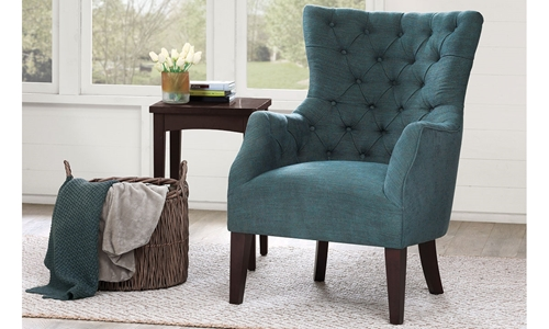 Picture of Hannah Tufted Barrelback Arm Chair