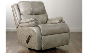 Picture of Cooper Leather Rocking Swivel Recliner
