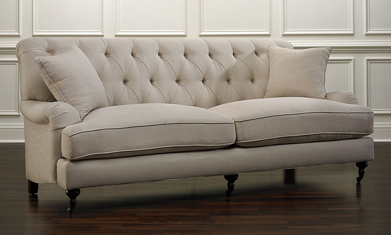 Picture of Jessica Jacobs Classics Oxford English Arm Sofa