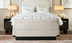 "ITwin Luxury Hotel Continental Hybrid 14.5"" Queen Euro Top Mattress"