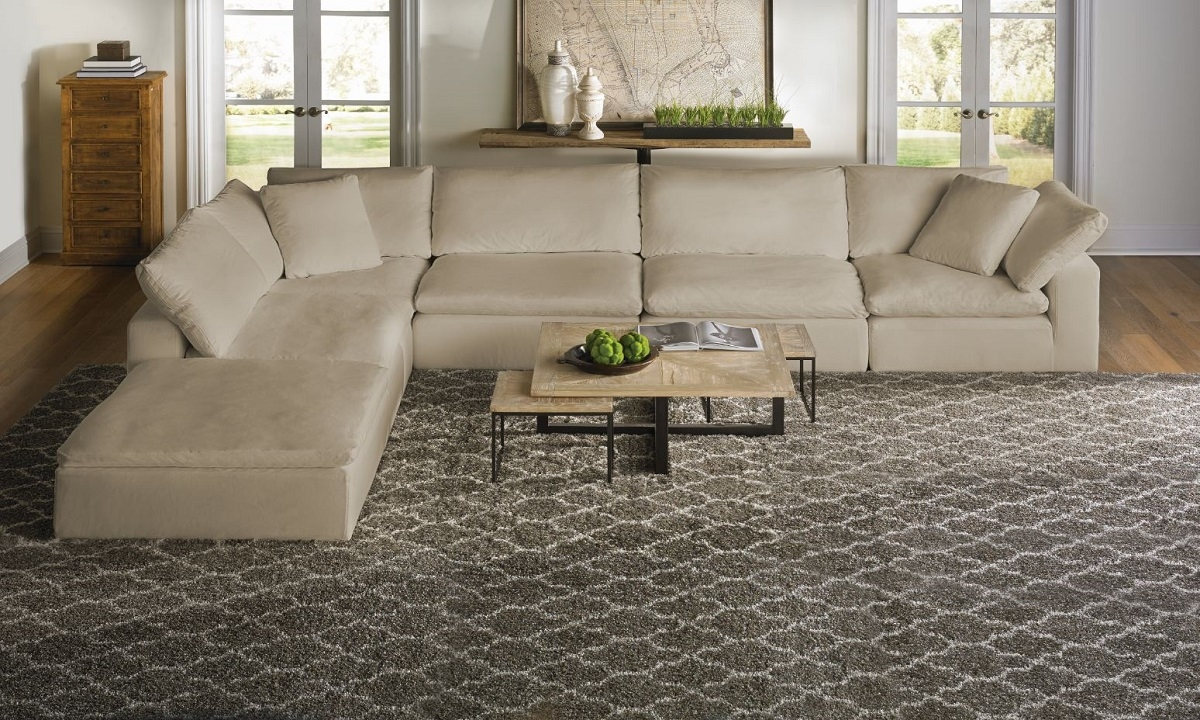Picture Of Luxe Modular Slipcover Sectional