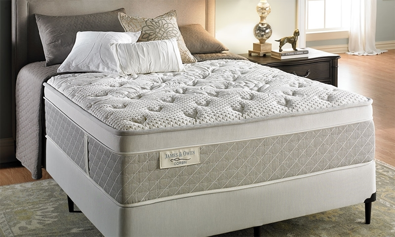 Picture of James & Owen Corbin Euro Top Mattress