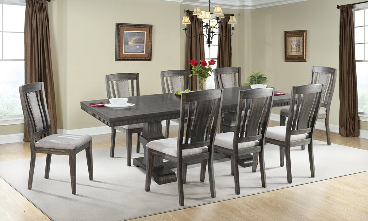 Picture Of Morrison Modern Farmhouse 5 Piece Dining Set