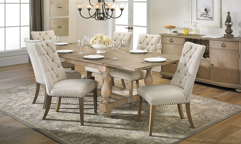 Picture of City 5-Piece Trestle Dining Set