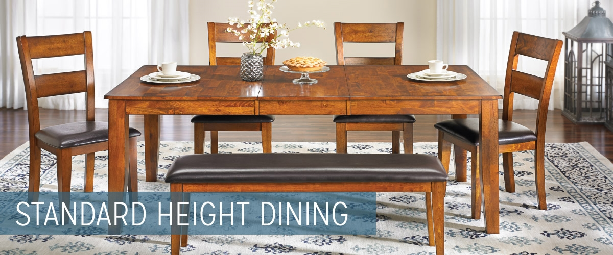 Standard Height Dining Room Tables
