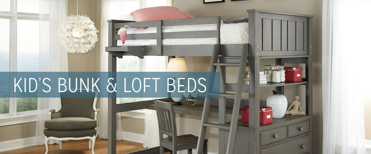 Kid's Bunk and Loft Beds