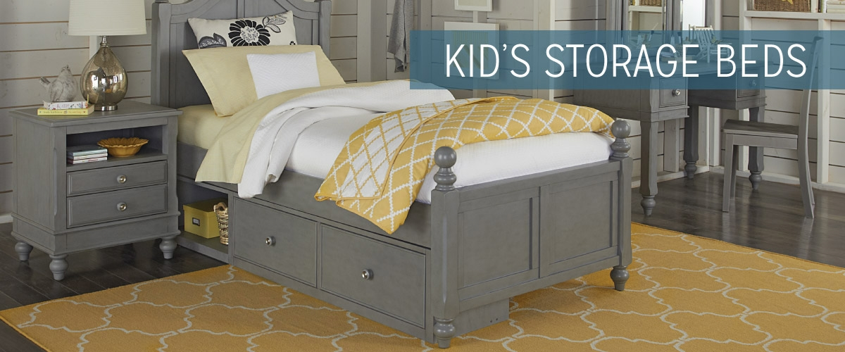 Kid's Storage Beds