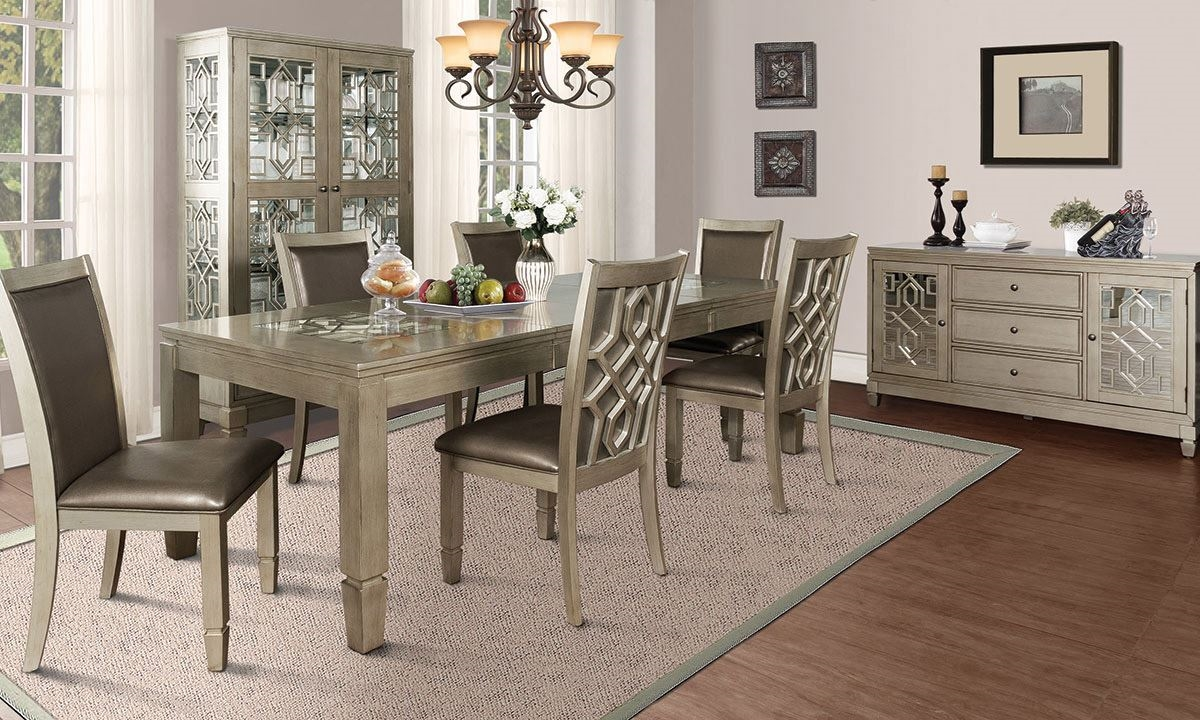 Illusions Dining Room with Sideboard | Haynes Furniture ...