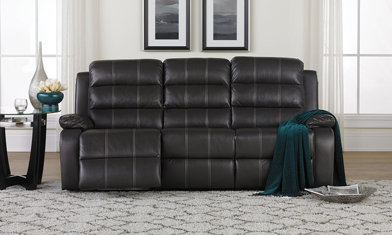 Picture of Blanche Grey Dual Reclining Sofa