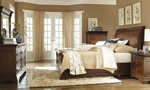 Picture of Irving Park Queen Sleigh Bed