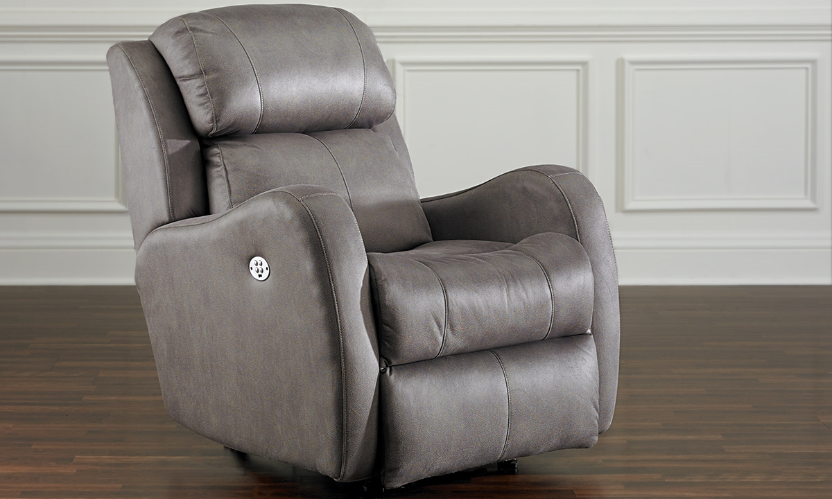 Picture of Graphite Rocker Recliner with Power Headrest & Graphite Rocker Recliner with Power Headrest | Haynes Furniture ... islam-shia.org
