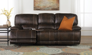 Picture of Klaussner Foster 90-Inch Power Reclining Sofa