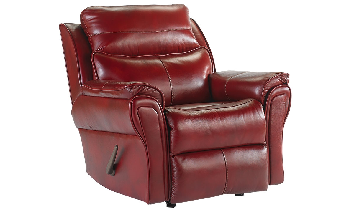 Picture Of Southern Motion Top Grain Leather Rocker Recliner