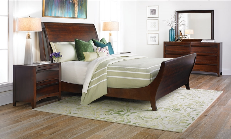 Picture of Contour Contemporary Queen Sleigh Bedroom