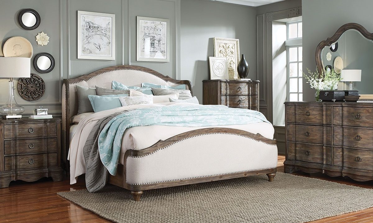 Parliament French Country Queen Bedroom Haynes Furniture - Queen bedrooms