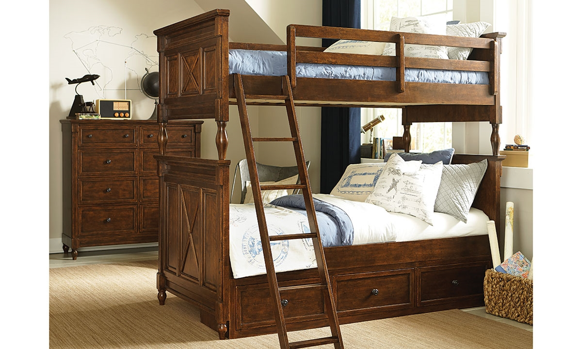 Legacy Classic Big Sur Twin-Over-Twin Bunk Beds | Haynes Furniture ...