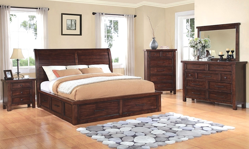 Picture of Sonoma Solid Wood Queen Storage Bedroom