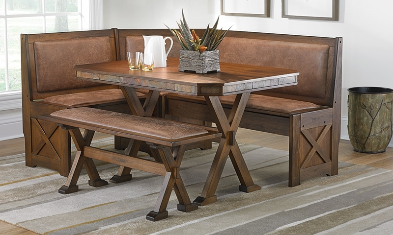 Haynes Furniture Savannah Dining Nook Set
