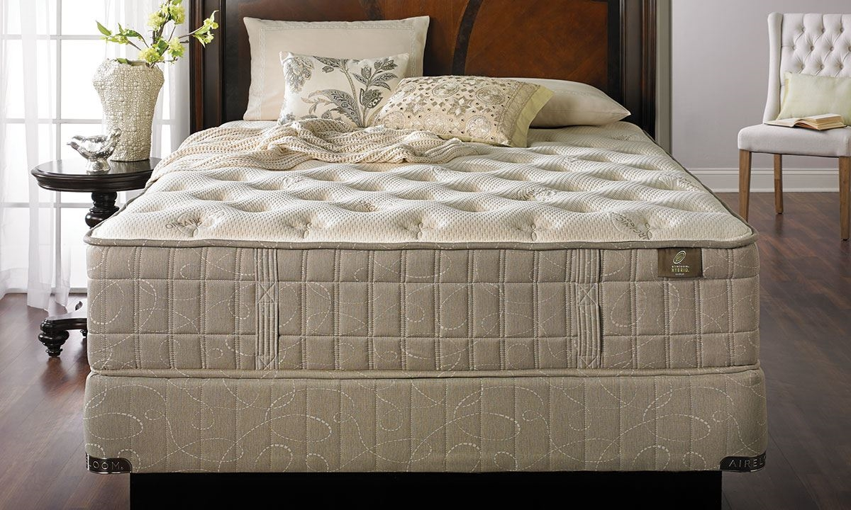 picture of aireloom almond iv luxury extra firm mattress