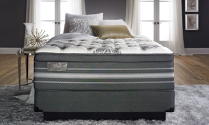 "Picture of iTwin Black Stanbury Hybrid 18.5"" Queen Mattress"