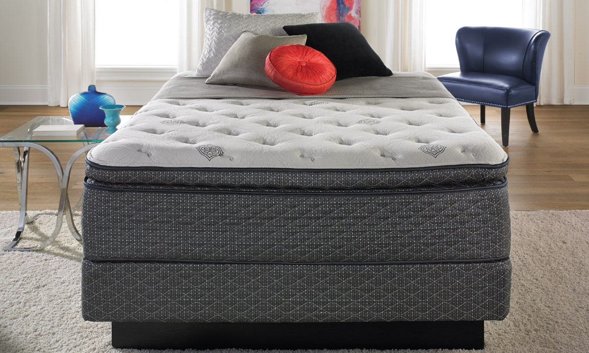 picture of i twin amalfi pillow top queen mattress